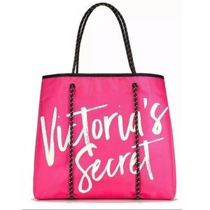 NWT Victoria Secret Weekender Expandable Tote Bag